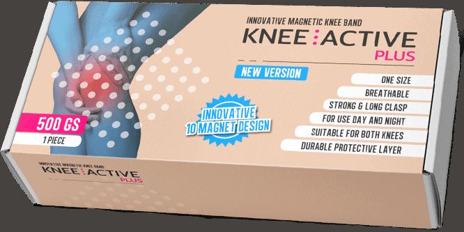 Knee Active Plus apporte soutien et stabilité