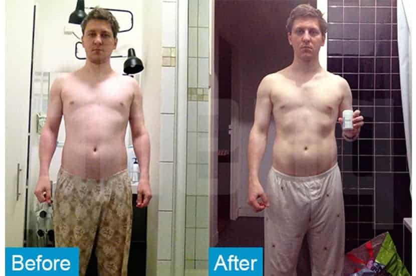Ghislain a réduit son taux de graisse corporelle et augmenté sa masse musculaire avec l'aide de PhenQ