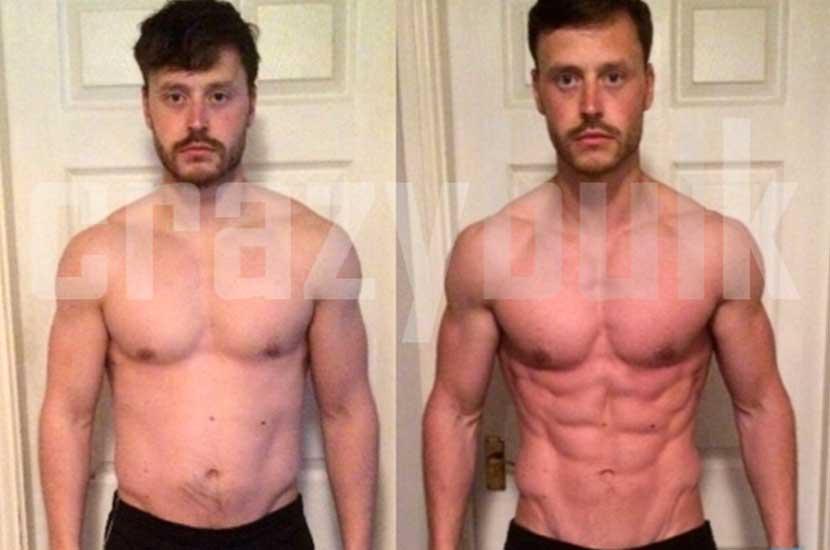 Avant et après avec Crazy Bulk