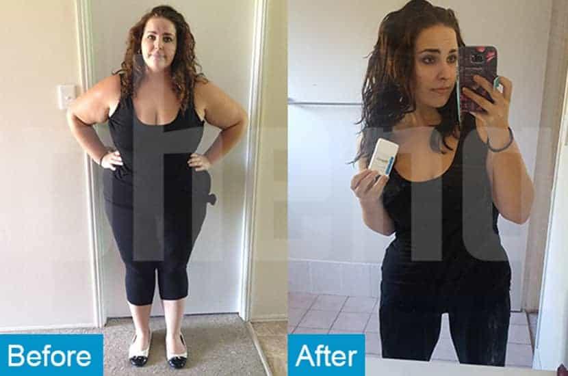 Taylah a perdu 20 kilos avec l'aide de PhenQ