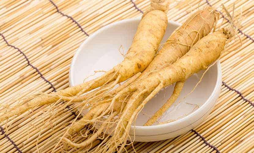 Le ginseng est un aphrodisiaque populaire dans la médecine traditionnelle chinoise