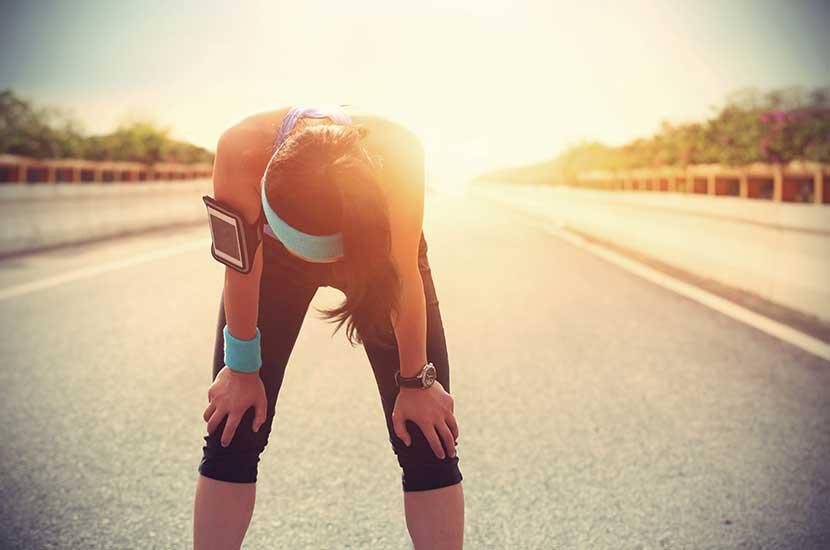 Faire trop de sport peut aussi affecter vos genoux