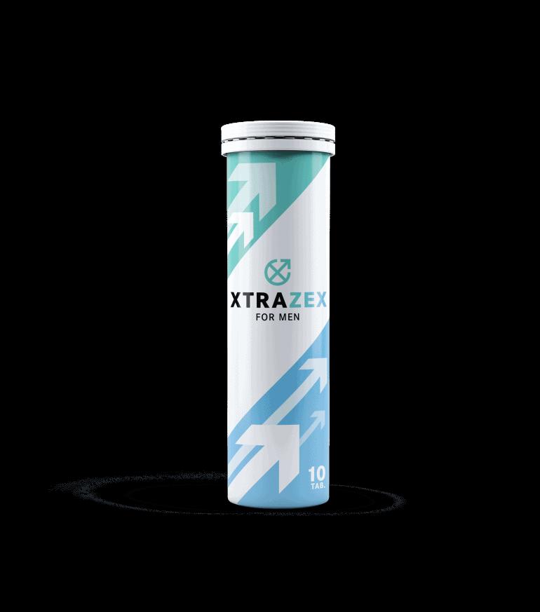 Xtrazex est un produit sous forme de comprimés effervescents pour la puissance masculine